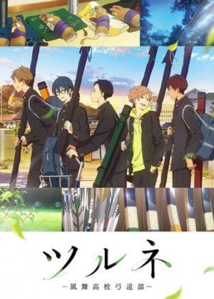 Capa do anime Tsurune: Kazemai Koukou Kyuudoubu