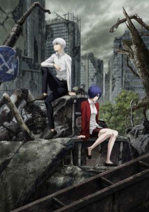 Capa do anime Tokyo Ghoul:re 4° Temporada