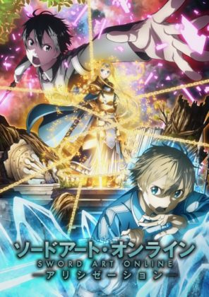 Capa do anime Sword Art Online: Alicization 3° Temporada