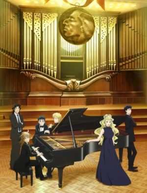 Capa do anime Piano no Mori 2 temporada