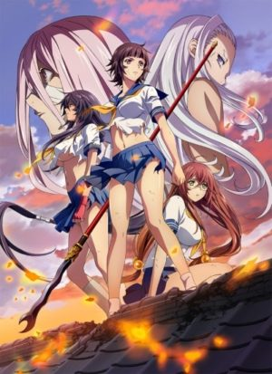 Capa do anime Ikkitousen: Western Wolves
