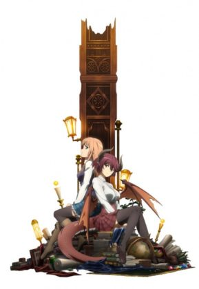 Capa do anime Manaria Friends