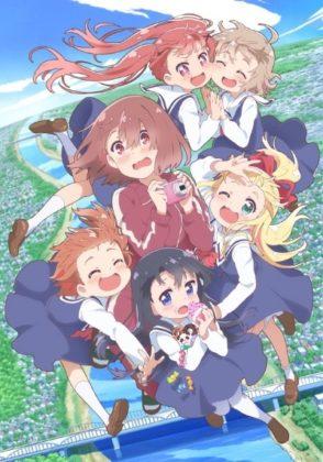 Capa do anime Watashi ni Tenshi ga Maiorita!