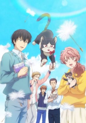 Capa do anime Doukyonin wa Hiza, Tokidoki, Atama no Ue.