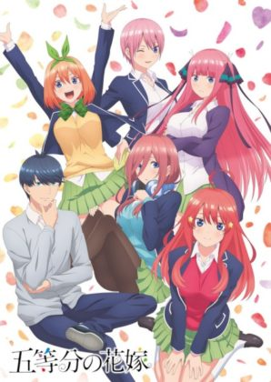 Capa do anime Gotoubun no Hanayome