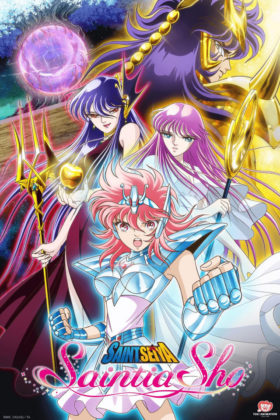 Capa do anime Saint Seiya: Saintia Shou