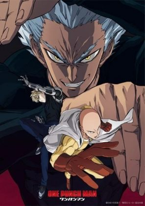 Capa do anime One Punch Man 2° Temporada