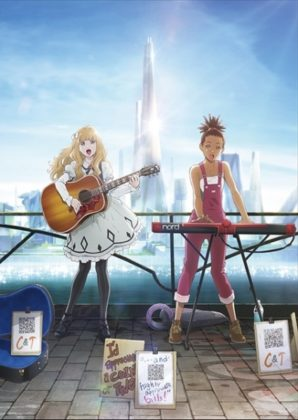Capa do anime Carole & Tuesday