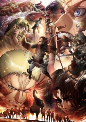 Capa do anime Shingeki no Kyojin 3 Temporada Parte 2