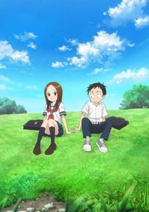Capa do anime Karakai Jouzu no Takagi-san 2° Temporada