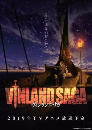 Capa do anime Vinland Saga