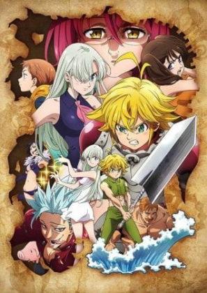 Capa do anime Nanatsu no Taizai: Kamigami no Gekirin