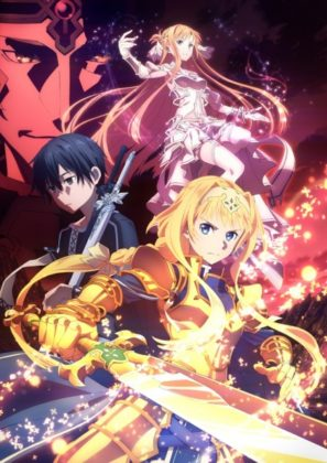 Capa do anime Sword Art Online: Alicization – War of Underworld