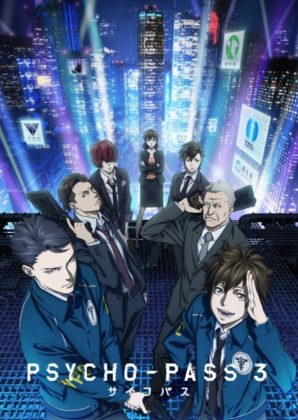 Capa do anime Psycho-Pass 3