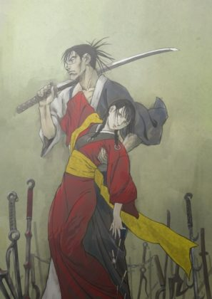 Capa do anime Mugen no Juunin: Immortal