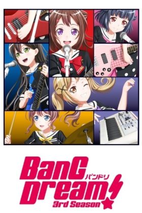 Capa do anime BanG Dream! 3 Temporada