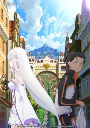 Capa do anime Re:Zero kara Hajimeru Isekai Seikatsu: Shin Henshuu-ban
