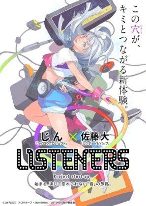 Capa do anime Listeners